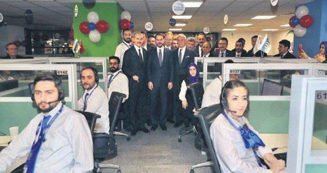 Albayrak'tan Trabzon'da çağrı merkezi açılışı