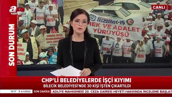 CHP'li belediyelerde işçi kıyımı devam ediyor!