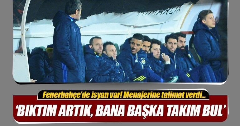 Fenerbahçe'de Valbuena şoku! 'Burada işim bitti'