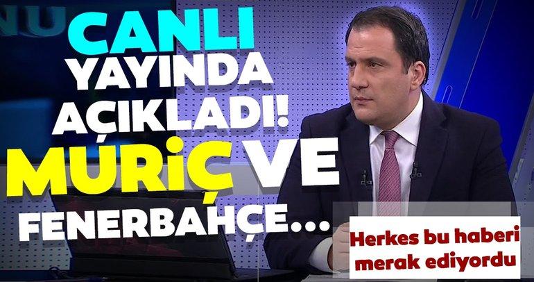 Vedat Muriç ve Fenerbahçe'de son dakika! Canlı yayında flaş transfer sözleri