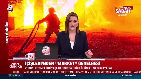SON DAKİKA HABERİ: Afyonkarahisar'da yangın paniği sürüyor! 80 bin metrekare alan kül oldu   Video