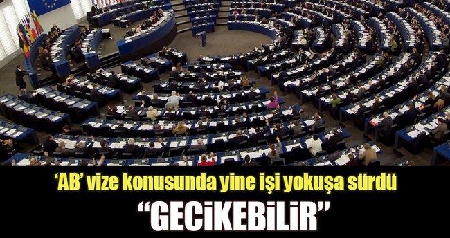 AB: Türklere vize muafiyeti gecikebilir