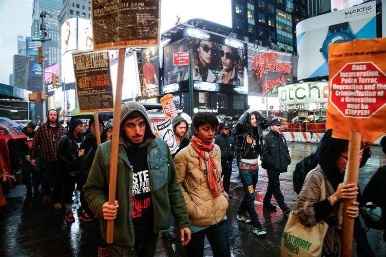 Polis şiddeti protesto edildi
