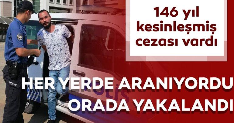 Son dakika: 146 yıl hapis hapis cezasıyla aranıyordu.... Ve yakalandı