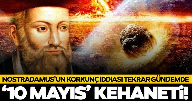 Nostradamus'tan korkutan kehanet! Büyük afetler, depremler...