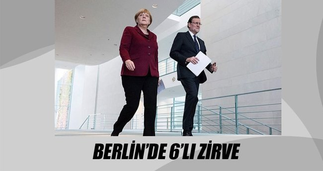Berlin'de 6'lı zirve