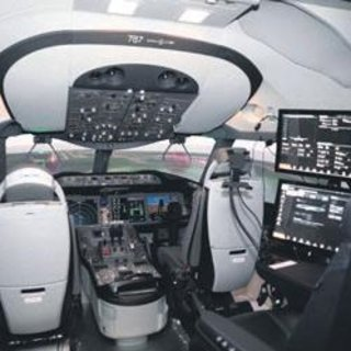 THY rüya uçağın pilotlarını eğitiyor