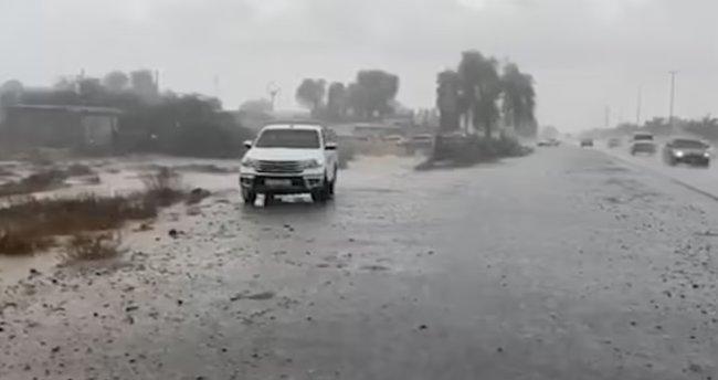 Kuraklığın arttığı Dubai'de sıra dışı çözüm! Böyle yağmur yağdırdılar…