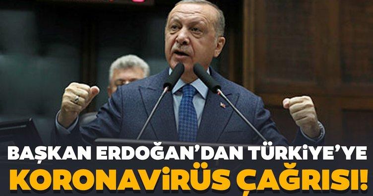 Son dakika: Başkan Recep Tayyip Erdoğan'dan Türkiye'ye Koronavirüs çağrısı