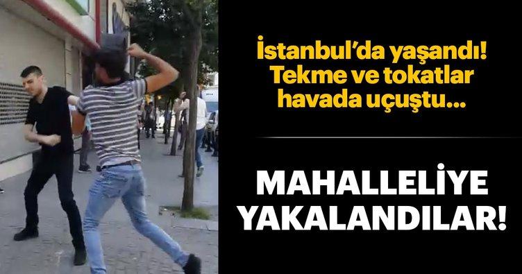 Zeytinburnu'nda laf atma kavgası