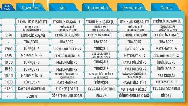 TRT EBA TV izle! (11 Haziran Cuma) DERS PROGRAMI Ortaokul, İlkokul, Lise | EBA giriş ekranı