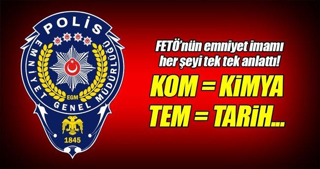 FETÖ üyeleri, polis şubelerini ders adlarıyla şifrelemiş!
