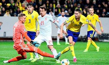 İsveç 1 - 1 İspanya (MAÇ SONUCU) - EURO 2020 elemeleri