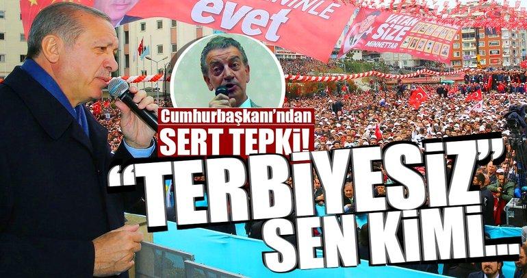 Erdoğan'dan tehditler savuran CHP'li vekile sert tepki