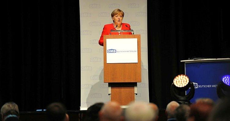 Merkel: Yeni konut yapımı için 5 milyar Euro daha ayırıyoruz