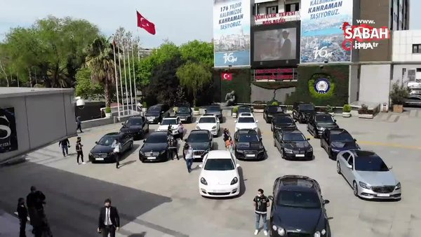 Lüks otomobil kaçakçılığı operasyonu: 24 araç ele geçirildi | Video
