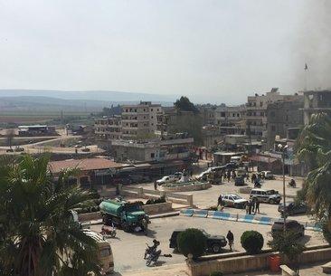 Son dakika: TSK ve ÖSO birlikleri Afrin ilçe...