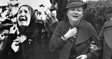 Mustafa Kemal Atatürk'ün cenazesinden fotoğraflar! Türk milleti onu ebediyete böyle uğurladı