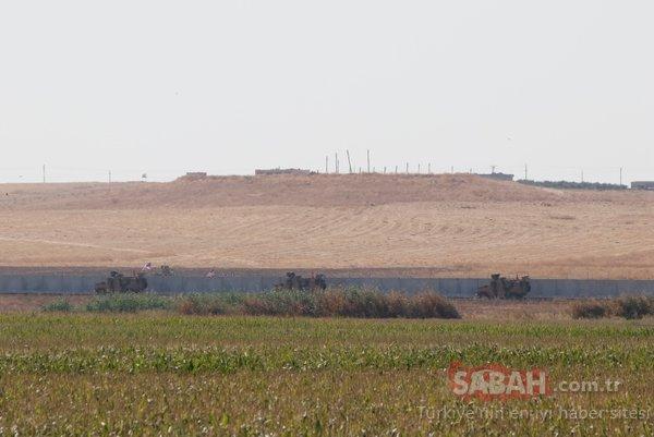 TSK'nın Fırat'ın doğusuna girişi böyle görüntülendi