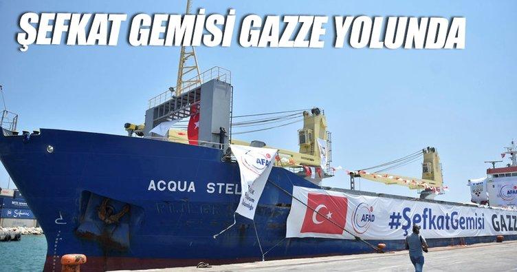 Şefkat gemisi Gazze yolunda