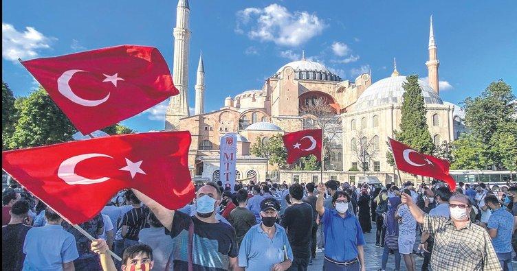 Avrupalı Türk'ün Ayasofya sevinci