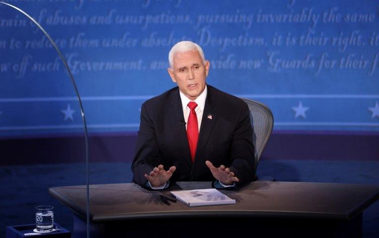 Son dakika haberleri   ABD'de seçim öncesi bu kez başkan yardımcıları karşı karşıya! Canlı yayında ilginç anlar...