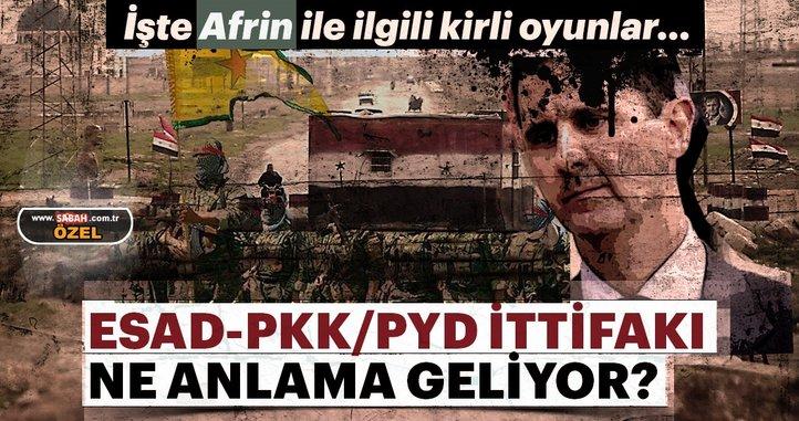10 soruda rejimle PKK arasındaki Afrin anlaşması