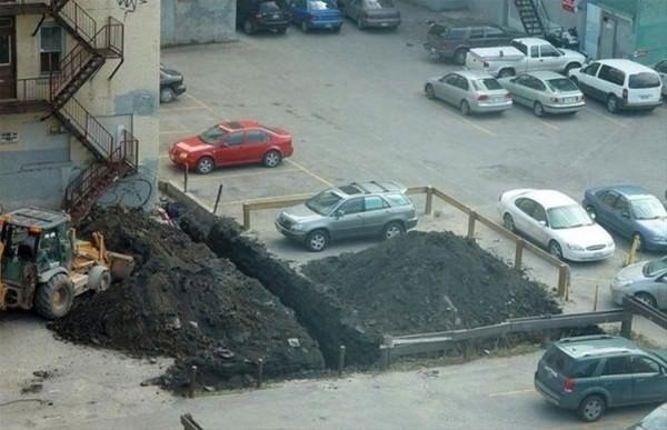 Hatalı parkın cezası ağır oldu
