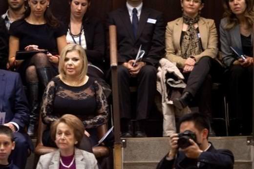 İsrailli first lady alay konusu oldu