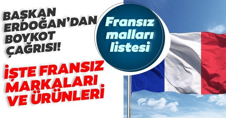 Türkiye'de üretilen Fransız markaları ve ürünleri listesi açıklandı! Bakan Varank'tan SON DAKİKA Fransa malları boykot açıklaması...