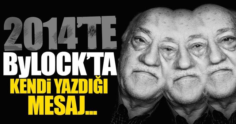 Teröristbaşı Gülen, örgüt üyelerine 'FETİH' mesajı yollamış