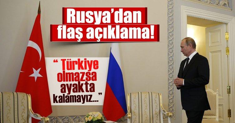 Rusya: Türkiye ile ekonomik ilişkilerin normalleşmesini istiyoruz