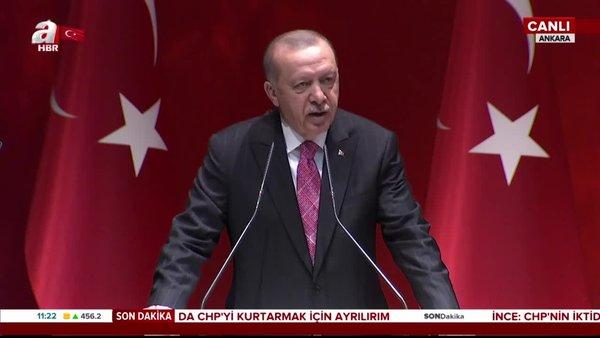 Son dakika   Cumhurbaşkanı Erdoğan'dan CHP'ye sert tepki