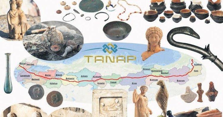 TANAP güzergâhından tarih fışkırdı