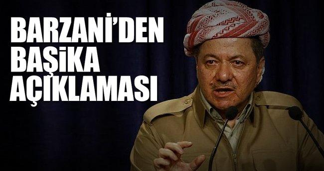 Barzani'den Başika açıklaması