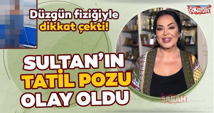 Yeşilçam'ın Sultan'ı Türkan Şoray'ın tatil pozu sosyal medyayı salladı! Düzgün fiziğiyle dikkat çekti!