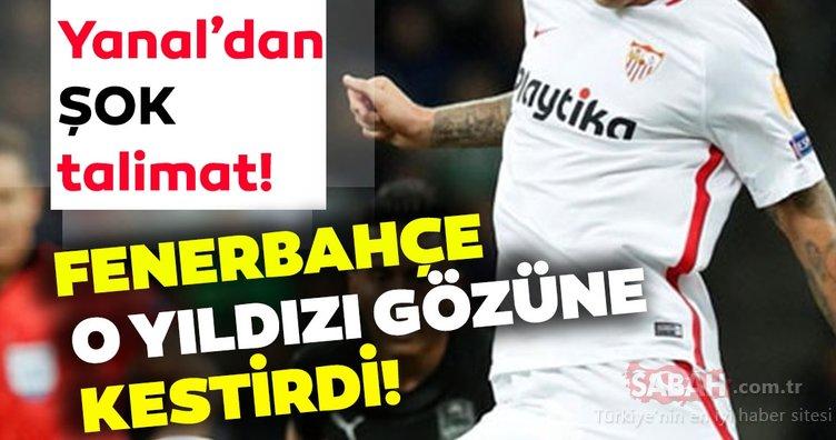 Son dakika: Fenerbahçe o yıldızı gözüne kestirdi! Ersun Yanal'dan Comolli'ye flaş talimat…