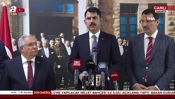 Çevre Bakanı Murat Kurum'dan 'Salda Gölü' açıklaması