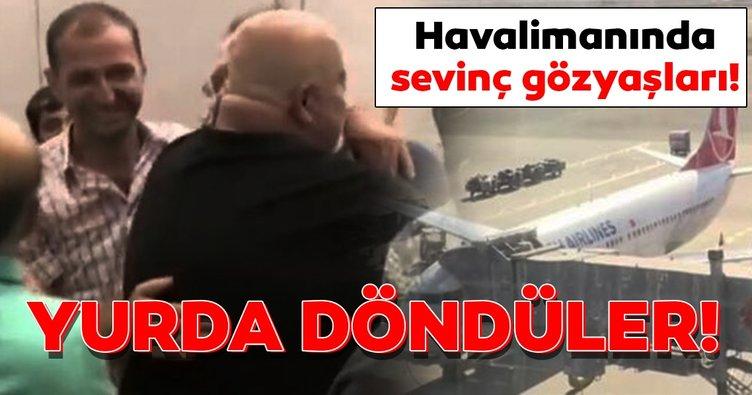 Son Dakika: Nijerya'da kaçırılan Türk denizciler Türkiye'de!