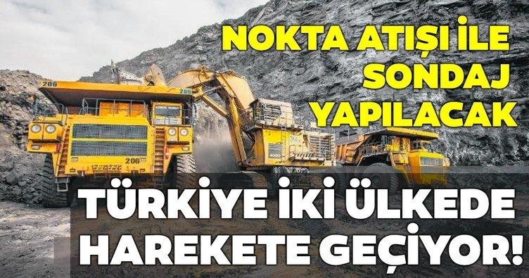 Türkiye iki kıtada da arama yapacak!