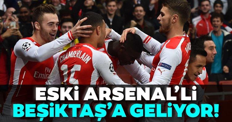Eski Arsenal'li yıldız Beşiktaş'a!