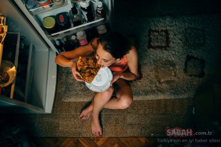 Gece yarısı yenen atıştırmalıklara dikkat!