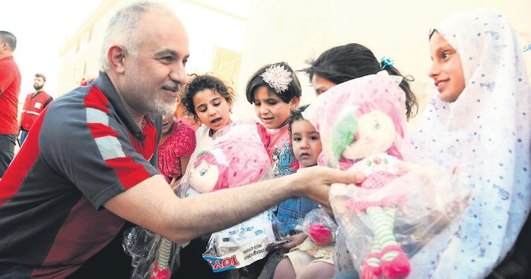 Afetlere 2 milyon Kızılay gönüllüsü