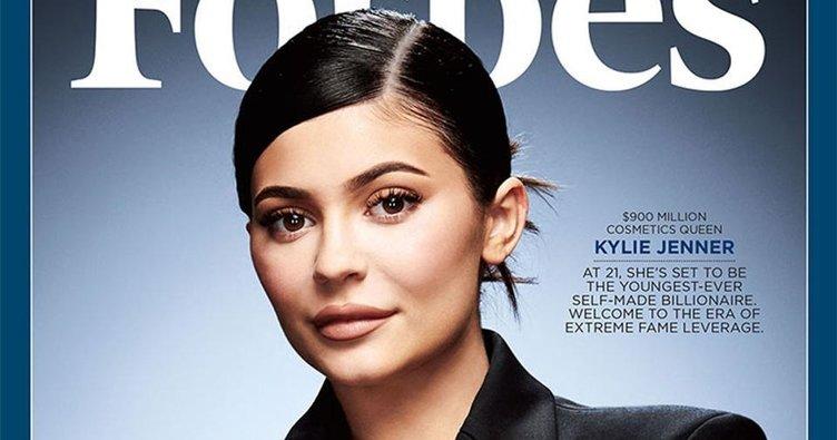 Kylie Jenner, Forbes'a kapak oldu