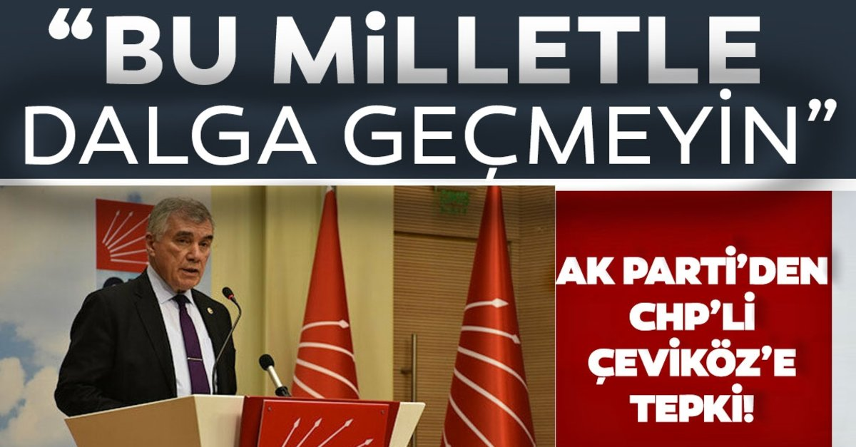 AK Parti Genel Başkanvekili Kurtulmuş'tan CHP'li Çeviköz'e tepki: Yazıktır, günahtır, bu milletle dalga…