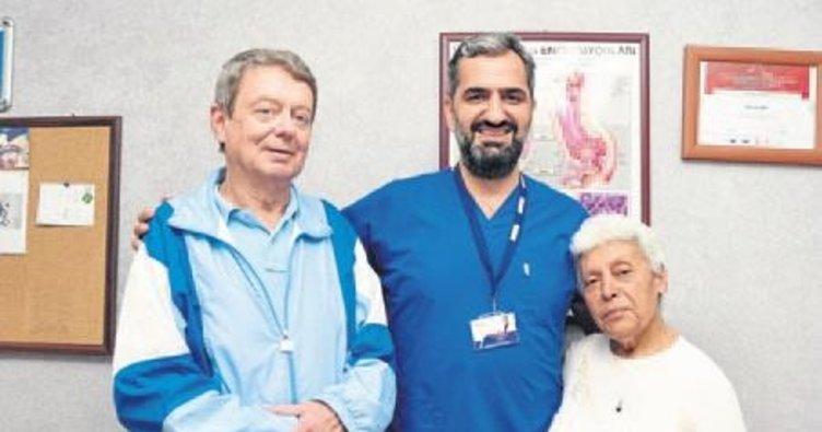 Alman hastaya İzmir'de şifa