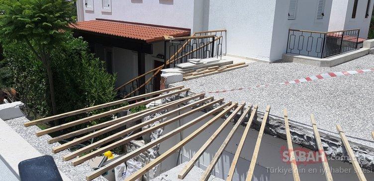 Yılmaz Özdil'in villasının yıkımı için yavaşlıkta rekor kıracaklar