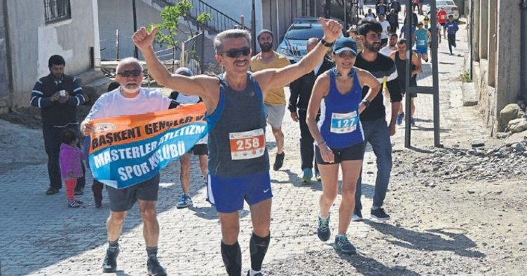Akdam köyünde maraton heyecanı