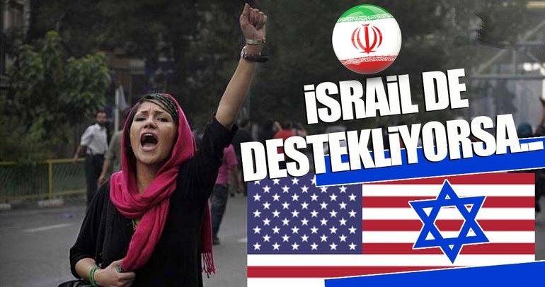 İsrail, İran'daki olaylardan çok memnun