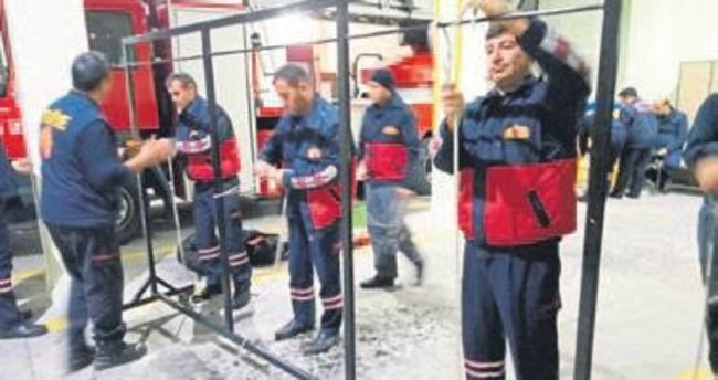 Personele 'komando' eğitimi